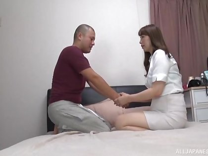 Time for sex with a being Japanese mature