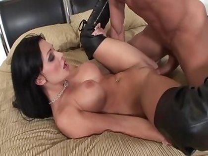 Best pornstar Aletta Ocean in hottest brunette, big tits adult clip