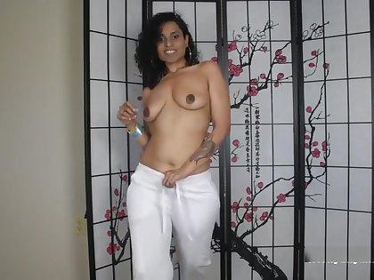 Desperate Indian Secretary wants to fuck boss pov in Tamil/English