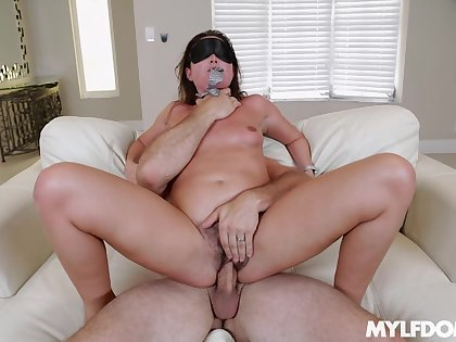 Milf gets dishonest in full hardcore forth a dominant lover