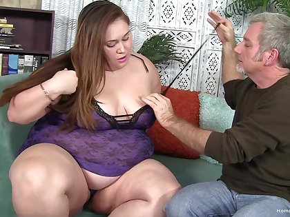 Sexy plumper Jayden Heart is always wet and always ready thither dread filled up!