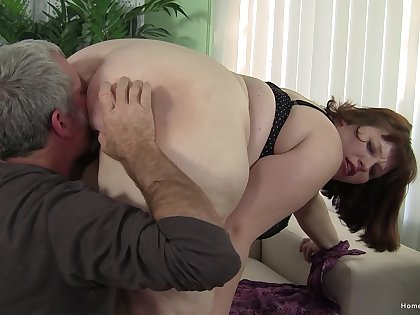 The showing the dick slides into her obese ass is quite dazzling
