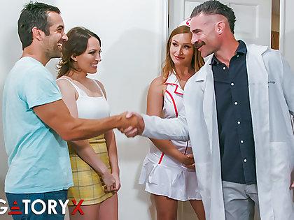 PURGATORYX Fertility Clinic Vol 1 Part 1 down Lily and Skylar