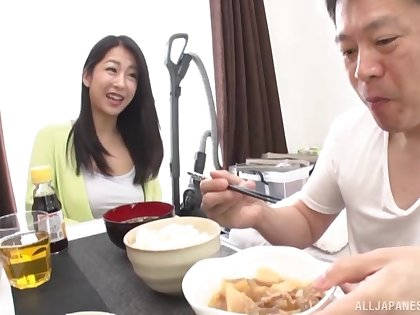 Cute Japanese wife with be transferred to perfect tits gets fucked nearly be transferred to morning