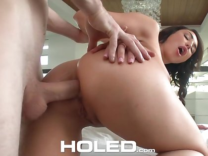 Anal-insane milf Christiana Cinn gets her booty holed after a deepthroat blowjob
