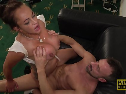 Grown-up whore Vickie Powell wanted to be fucked rough and loves it